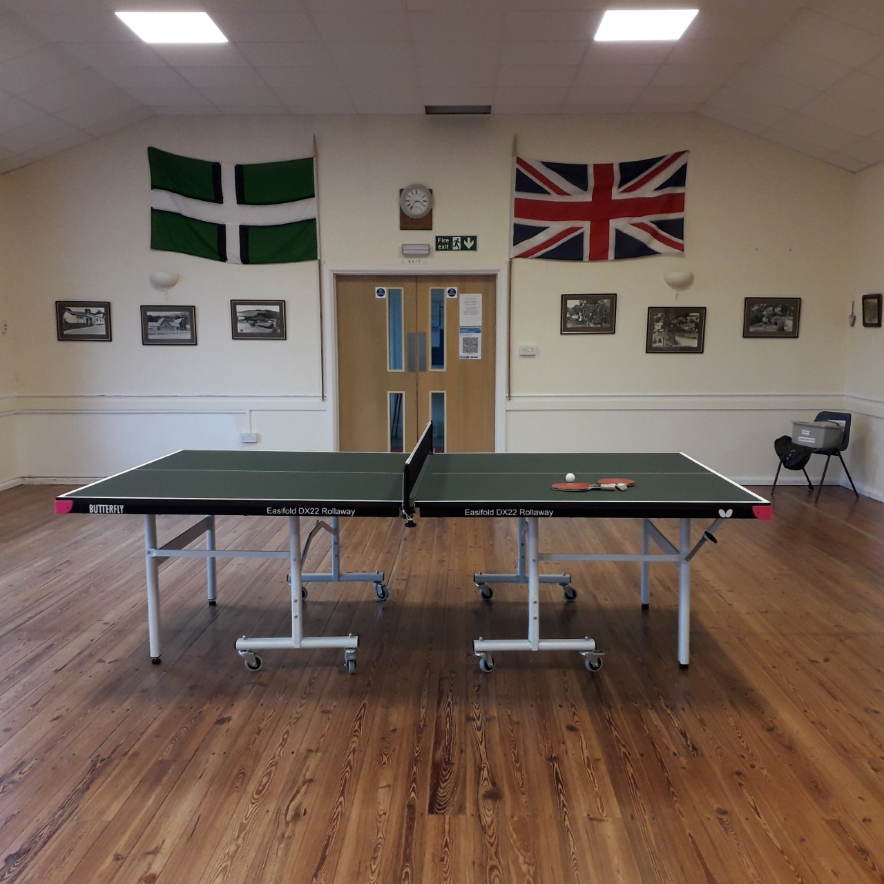 Weare Gifford's seed funded table tennis club