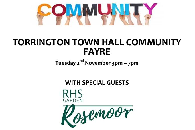 Torrington Town Hall Community Fayre